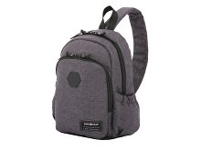 Рюкзак SWISSGEAR 13'', ткань Grey Heather/ полиэстер 600D PU , 25х14х35 см, 12 л, серый