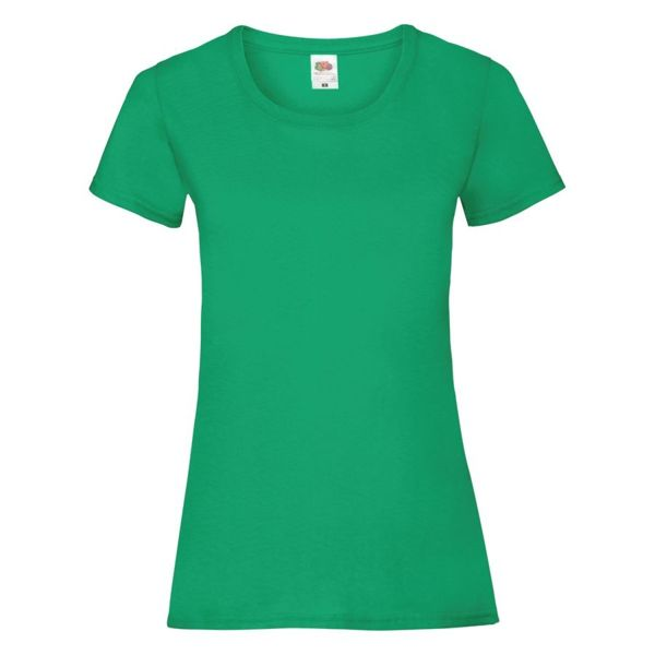 "Футболка ""Lady-Fit Valueweight T"", зеленый_XS, 100% хлопок, 165 г/м2"